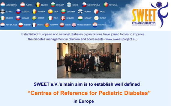 Centres of Reference for Pediatric Diabetes
